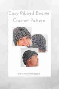 Ribbed Beanie Crochet Pattern