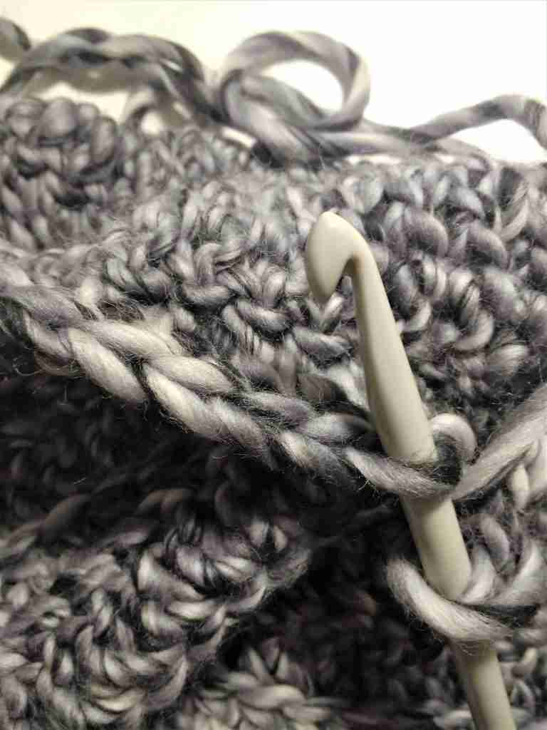 Double Crochet Front Loop Only