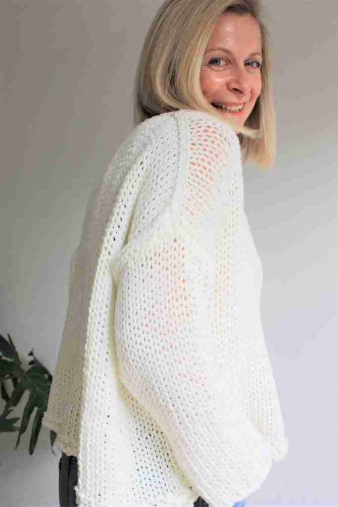 Best beginners knit sweater pattern