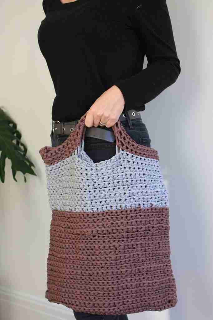 Crochet Tote Free Pattern For Beginners