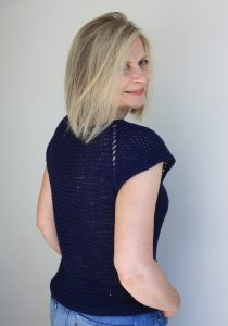 Easy Crochet Seamless Vest